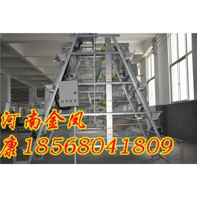惠州  金凤鸡笼 5列4层 重叠式自动化养鸡设备