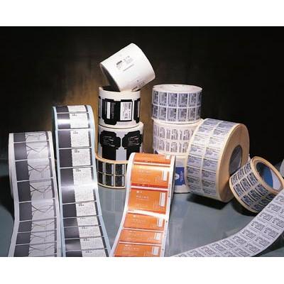 富元复合材料印刷供应卷筒红酒标签  电子门票厂家直销
