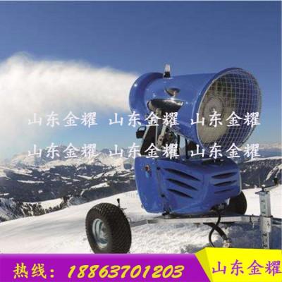白天不懂夜的黑 人工降雪机 全自动喷雪机