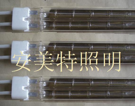 双管半镀金反射型电热管定做功率、长度、电压、安美特
