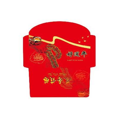 定制广告印刷红包 高档烫金红包 可加logo