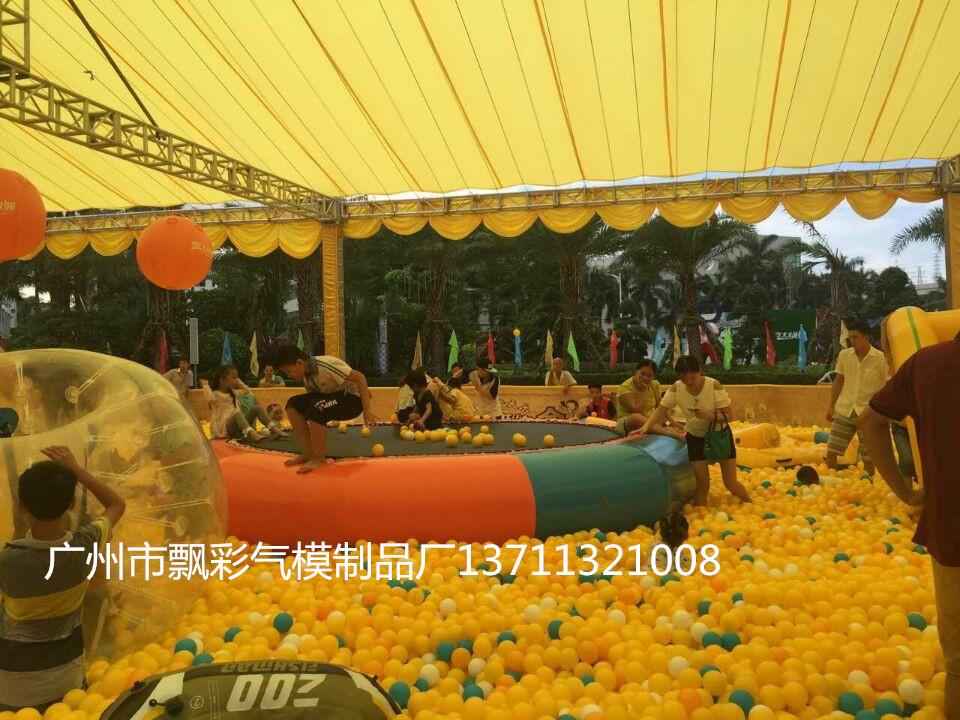 东莞充气波波池出租广州大型充气城堡蹦蹦床滑梯租赁