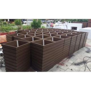 河南PVC塑木花箱,河南户外PVC种植花箱,河南pvc微发泡板塑木花箱