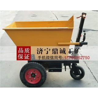 供应建筑工地用电动灰斗车 室内装修多功能电动翻斗搬运车