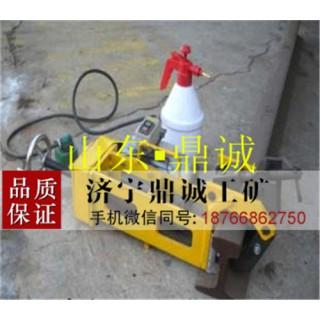 四川绵阳DZG-23电动钢轨钻孔机 麻花钻孔轨道钻眼机
