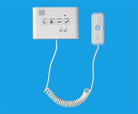 敬老院床头一键呼叫分机 老年公寓房间求助对讲设备