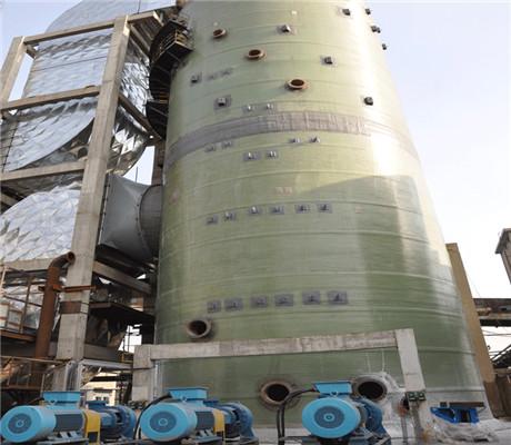 河北立达 玻璃钢脱硫塔产品介绍