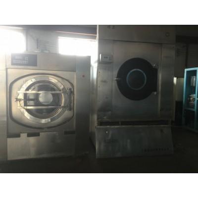 东平全套二手水洗厂海狮百强设备转让二手各种折叠机