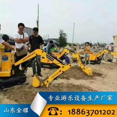 儿童仿真挖掘机 电动游玩挖掘机 推土机 叉车 塔吊