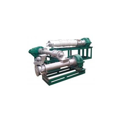【华诚机械】210型三阶造粒机