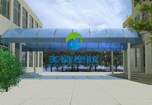 上海南京供应PC阳光板顶棚专用PC阳光板防腐蚀