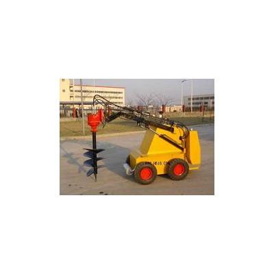 小型滑移挖坑机,小挖坑机