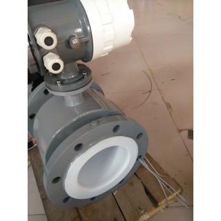 长治电池供电电磁流量计团购,DN150供暖流量计