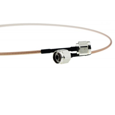 N公头 - N公头 接RG142 电缆组件