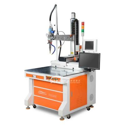 茶水壶嘴焊接用光纤连续焊激光焊接机效果更美观