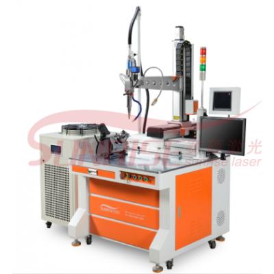 光纤连续焊激光焊接机焊接不锈钢水壶更智能化