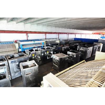 哈尔滨二手折叠机二手水洗机价格二手100公斤烘干机