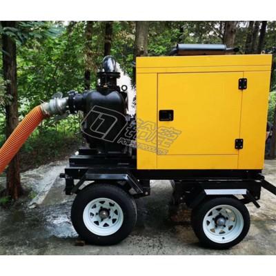 矿山用自吸式移动泵车柴油机水泵