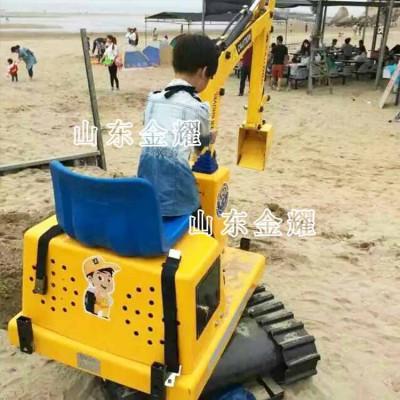 儿童仿真挖掘机,家庭景区都可使用,电动挖掘机,操作简单