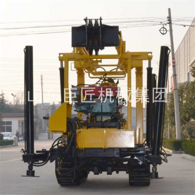 履带岩心钻机液压岩心钻机操作省时省力XYD-130