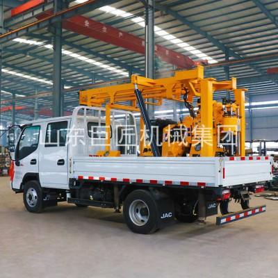 车载工程钻机汽车钻全液压岩心钻机XYC-200