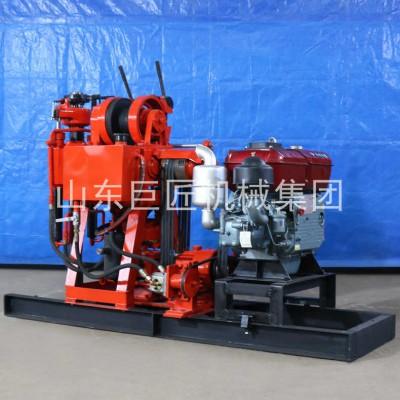 地质150钻机全液压岩心钻机动力强进尺快XY-150
