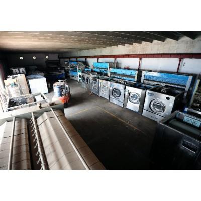 潍坊洗衣店转让二手洗涤设备二手干洗机二手海狮100公斤水洗机