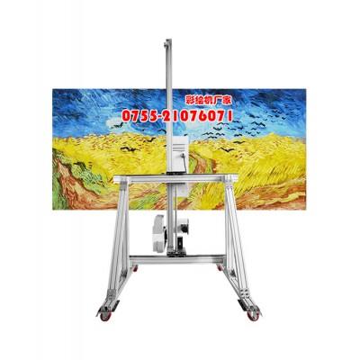 彩绘墙面机器多少钱一台 天津彩绘墙面机器供应商