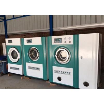 保定市转让洁神100公斤洗脱机两台二手川岛大口烘干机销售