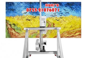 【松普】福州墙体广告喷绘机作画效果如何?