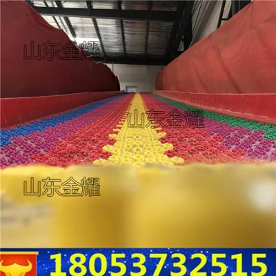 彩虹滑道多少钱一平方 七彩滑道批发价格 彩虹滑道