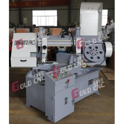 GB4230X小型金属角度带锯床 山东高德数控 厂家直销