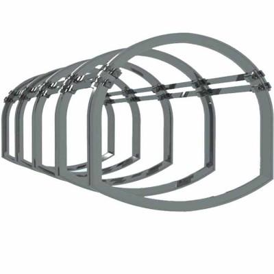 巷道可缩性支架(U型钢拱形可缩性支架