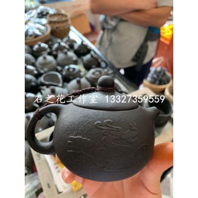 大量供应石头制品冰碛岩茶具花盆烟灰缸鱼盆等