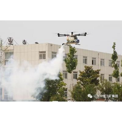 烟雾式植保无人机 嘿客植保无人机 烟雾式喷洒穿透强