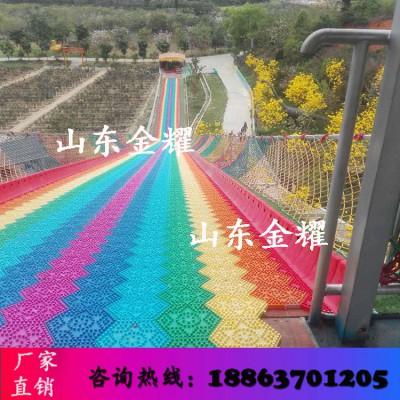 景区吸金神器彩虹滑道四季滑道极速滑道可以多人一起玩的项目