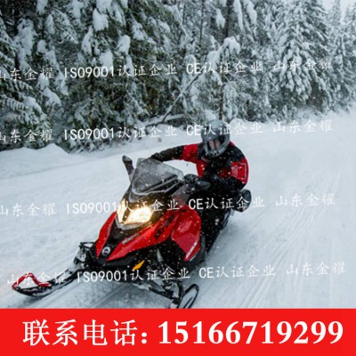 雪地游艺设施 大马力雪地摩托车 大型双人雪地摩托车
