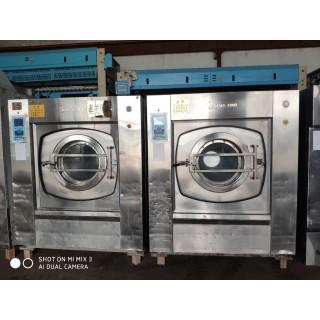 赤峰出售二手张家港海狮100公斤水洗机洗脱机海狮烘干机