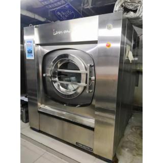 库存二手100公斤大型水洗机鸿尔100公斤二手洗脱机