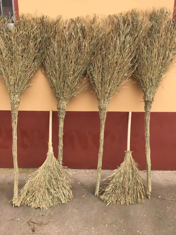 竹枝扫把 清洁工具 纯手工编织