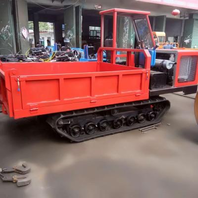 履带混凝土运输车 双缸履带工程车 15吨四不像车