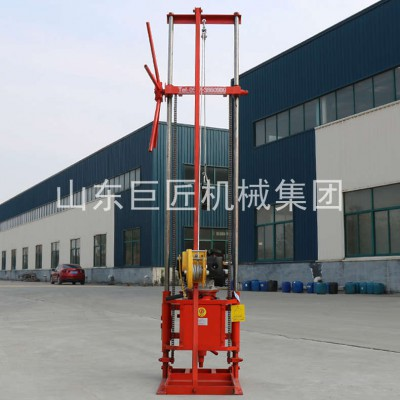 QZ-2CS轻便取样钻机汽油钻机钻机取岩芯巨匠集团提供重量轻