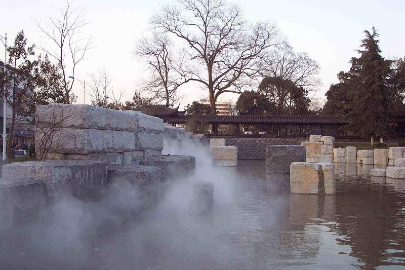 湖北人工造雾 园林人工造雾 景区人造雾 湖北冷雾雾森厂家
