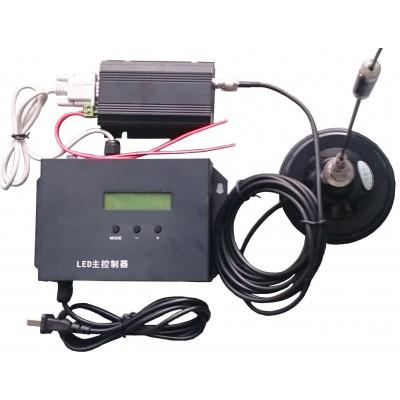 无线射频RF幻彩LED主控控制器20km信号范围