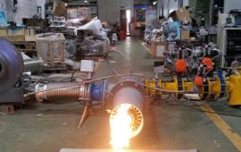 坩埚炉燃烧机-天然气烧嘴-精燃机电 (9播放)