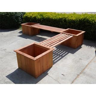 河南PVC塑木花箱,塑木花箱,PVC花箱