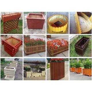 焦作木塑花箱厂家,焦作pvc花箱,焦作道路花箱