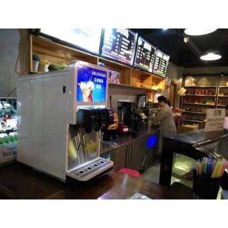 汉堡店三头可乐机多少钱霸州可乐糖浆气瓶
