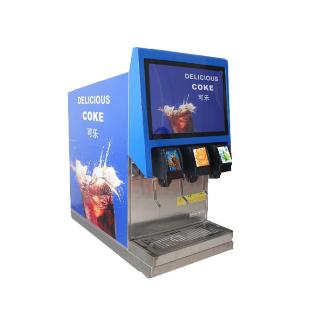 网咖可乐机价钱可乐糖浆出杯量