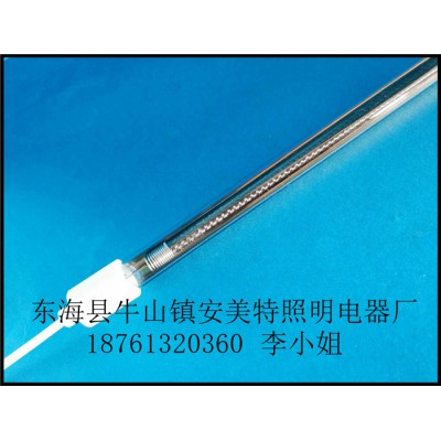 反射型另一半热量高半镀金编织碳纤维电热管(安美特)